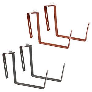 Blumenkasten Halterung Pflanzkasten 2er Set Universell Metall Balkon