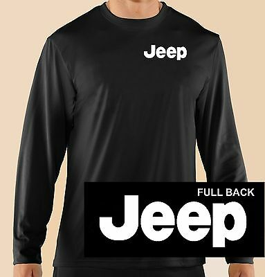 2XL Go Topless Jeep 4 x 4 Off Road Motor Auto Long Sleeve T-Shirt Sizes S