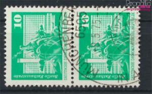 DDR-1868sP-senkrechtes-Paar-Bedarfsstempel-gestempelt-1974-Bauwerke-9187938