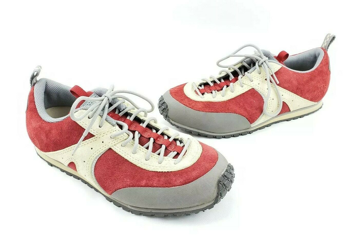 The NORTH FACE Vibram Women's A5 Retro Style shoes Size 6 Red Beige