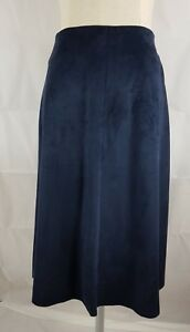 Zara-Trafalac-Raw-Hem-Fully-Lined-Royal-Blue-Skirt-Size-USA-XS-EUR-XS