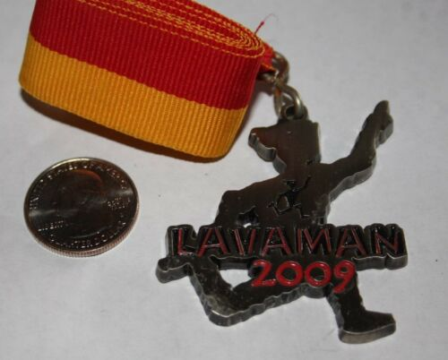 2009 LAVAMAN TRIATHLON KAILUA KONA HAWAII FINISHERS MEDAL 100% ORIGINAL
