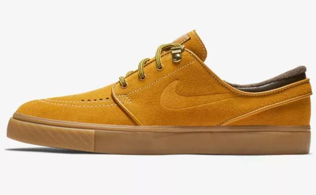 Amperio Brote Ecología  Nike SB Air Zoom Stefan Janoski Premium Skate Shoes Size 10 Bronze Ar1575  779 for sale online | eBay