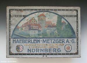 Blechdose-HAEBERLEIN-METZGER-A-G-NURNBERG-um-1920
