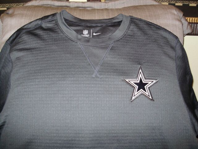 Frequently bought together. NFL Dallas Cowboys NIKE Sideline Modern Crew  Gray Thick Shirt ... a0f5a46c7