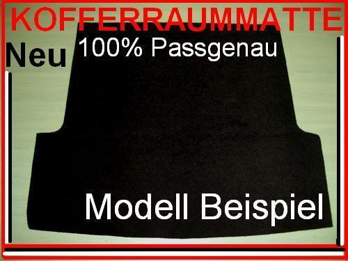 "Kofferraummatte MERCEDES BENZ W124 T-Modell Kombi  keine Kofferraumwanne/""Nr.41/"""