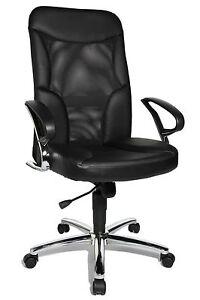 Chefsessel Bürostuhl Drehstuhl Bürosessel Topstar Airway Echt Leder