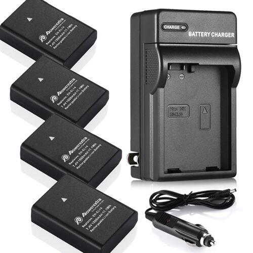 Decoded EN-EL14a Battery & Charger for Nikon D5500 D5300 D5200 D3300 D3200 D3100