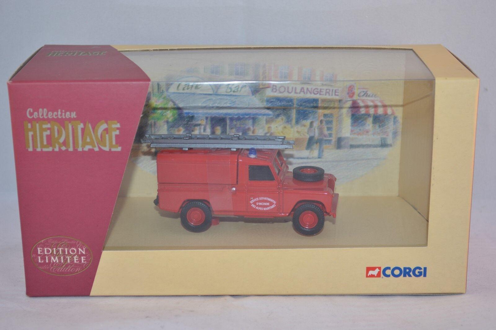 Corgi 07412 Land Rover - Pompier Pompier Pompier Des Ardennes 1 43 mint in box 94e7ea