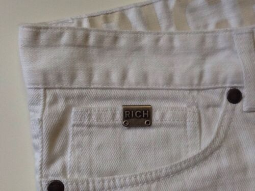 Taglia Uomo Occasione Richmond 34 Jeans Skinny Made Super Italy Nuovi In qPvwvE
