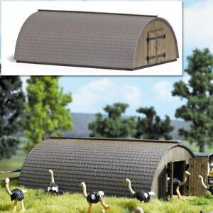 Busch-1513-round-Roof-Barn-Kit-H0