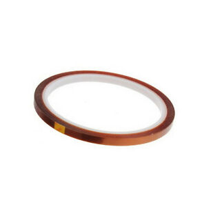 "NEW Kapton Tape High Temperature 0.2/"" 5mm X 100ft for BGA !!!!!!!!!!!!!!!!!!!!!!"