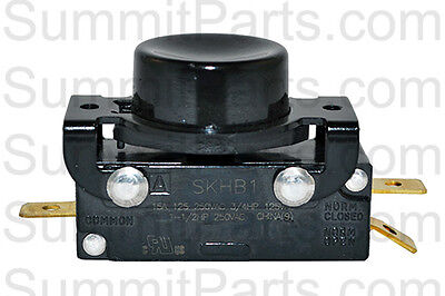 SQ DRYERS PUSH TO START SWITCH FOR HUEBSCH 44106901P REPLACES M400954