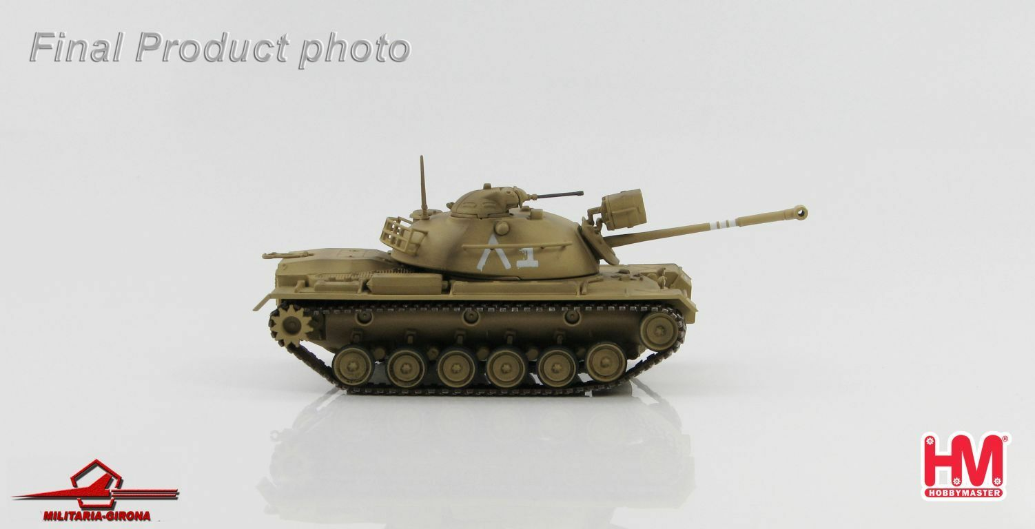 Hobby Master 1 72 HG5504 M48A2 Patton IDF 7th Armored Brigade Israel Sinai 1967