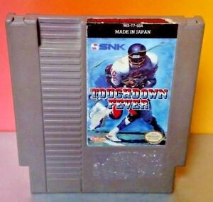 Touchdown-Fever-Football-SNK-Nintendo-NES-Game-Rare-Tested-Works-Authentic