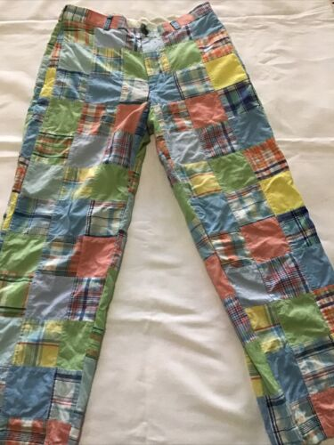 Brooks Brothers 346 Patchwork Madras Pants Trouser