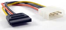 ALIMENTAZIONE MOLEX 4 PIN MASCHIO HDD SOCKET PER HDD / SSD SATA FEMMINA connettore di alimentazione