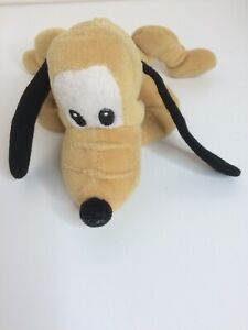 VINTAGE Plutone giocattolo morbido peluche Disney.