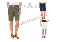 GLORIA VANDERBILT WOMEN BEVERLY BERMUDA SHORTS! LIGHTWEIGHT!*WOT#1023683#1023681