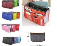 Women Travel Insert Handbag Organiser Purse Large liner Organizer Bag Amazing xp