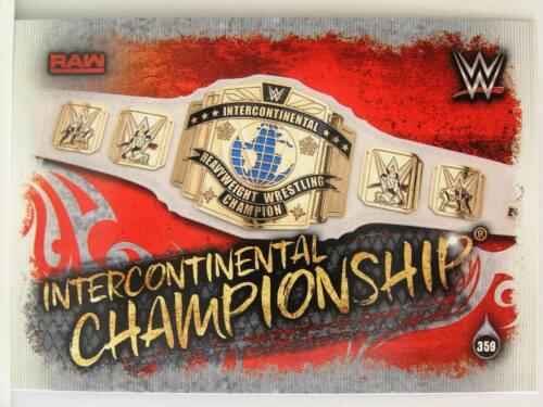 Slam Attax #359 Intercontinental Championship Live 2018