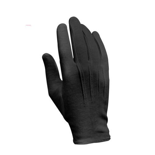 Style Militaire Parade Gants Noir ou Blanc Métal Snap On Poignet Rothco 4410