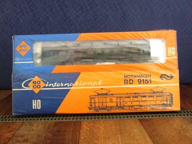 Roco HO 04190 S-motorwagon bd 9151 (2 Piezas)