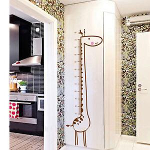 DIY-Decor-Vinyl-Wall-Sticker-Removable-Cute-Giraffe-Height-Chart-Measure-For-Kid