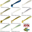 Strike-King-Rage-Swimmer-Soft-Plastic-Solid-Swim-Bait-Any-11-Colors-RGSW434-Lure thumbnail 1