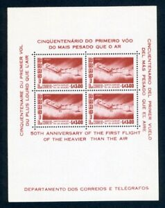 Brasilien MiNr. Block 11 postfrisch MNH Flugzeuge (W904