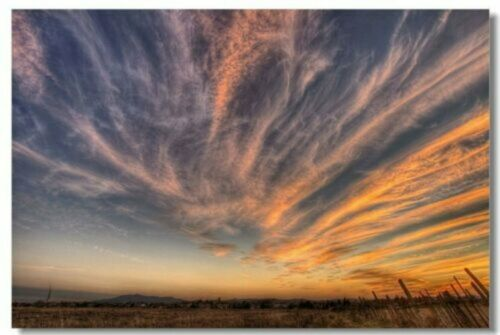 Poster Landscape Sky Air Cloud Nature Motivational Art Wall Print 852