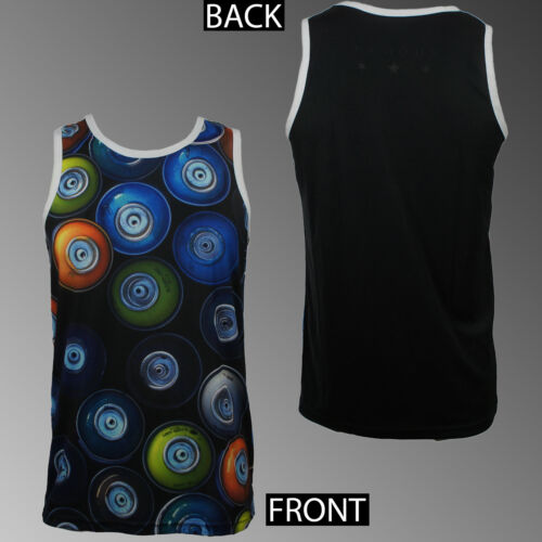 FAMOUS STARS /& STRAPS Capless Cans Sublimated Tank Top Shirt S-2XL NEW