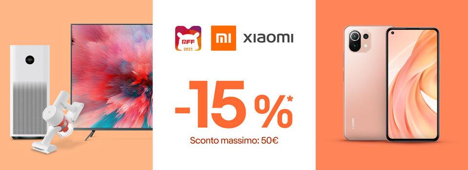 Scopri il codice - Mi Fan Festival: 15% coupon su Xiaomi