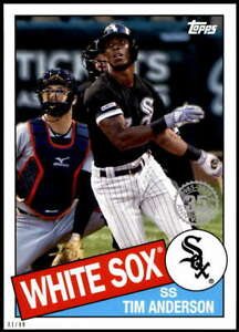 Tim-Anderson-2020-Topps-1985-35th-Anniversary-Series-2-5x7-85TB-9-49-White-Sox