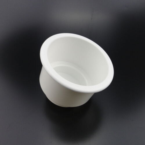 2x Perfect Selling White Boat Plastic Cup Drink Can Holder Boat//Car Marine RV