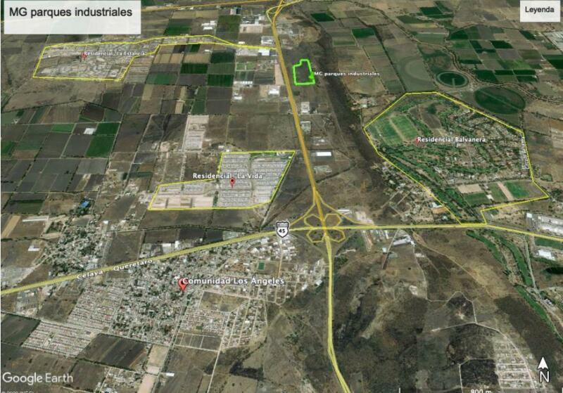 Terreno industrial en Venta en Parque sobre el Libramiento Norponiente 785m2