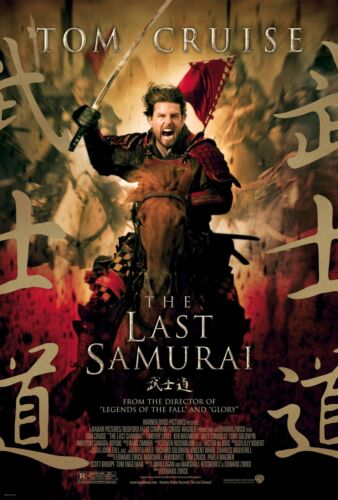 THE LAST SAMURAI ..Tom Cruise...Classic Movie Poster A1A2A3A4Size
