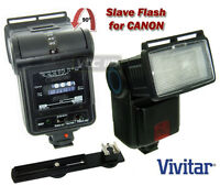 Digital Slave Flash For Canon Rebel T5i T4i T3i T3 T2i T1i Xt Xti Xs Xsi Camera