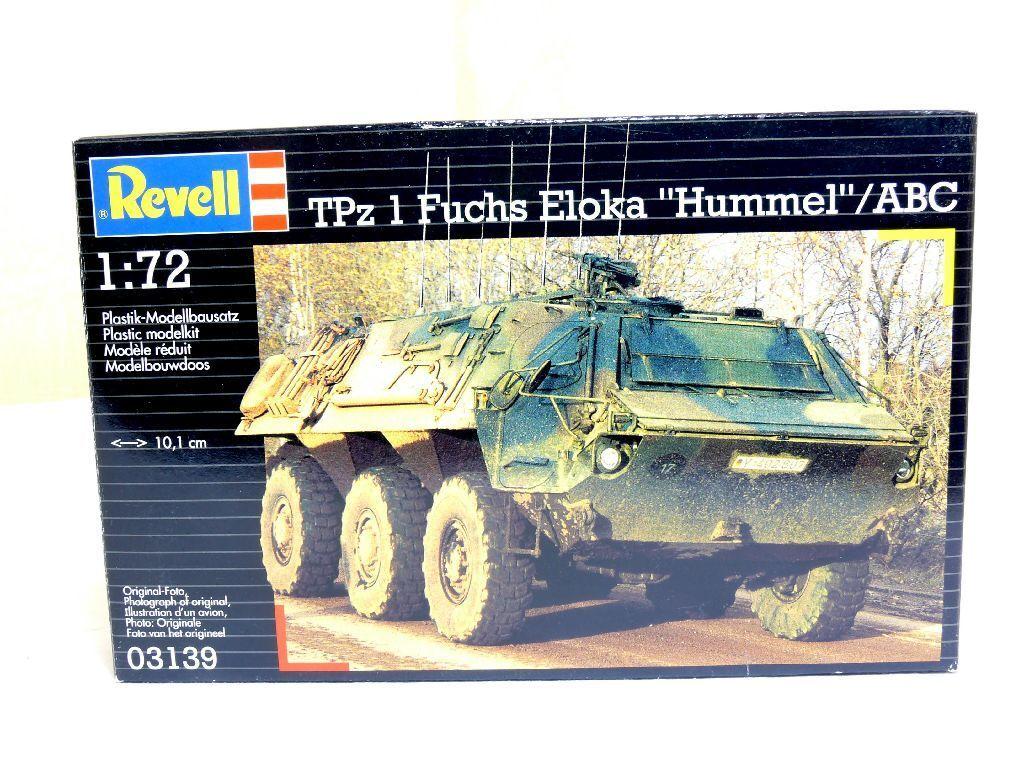 Revell 03139 Kit 1:72 1 Carro Armato Tpz 1 1:72 Fuchs Eloka Hummel Abc Conf. Orig. 3bd3e5