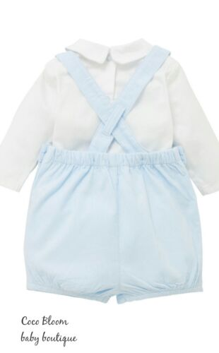Mintini Baby Romany Espagnol Style traditonal smocks Dungarees /& top outfit