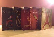 Game of Thrones Seasons 1-5 Best Buy Exclusive House Sigil Blu-ray Complete Set