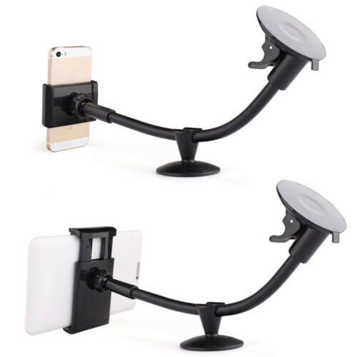 Portable Car SUV Long Arm Phone Tablet Clip 5/'/' 7/'/' Holder For iPhone Sumsang