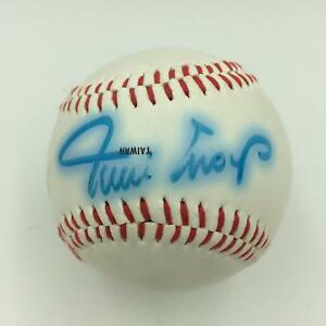 Vintage-Willie-Mays-Signed-Official-League-Baseball-PSA-DNA-COA