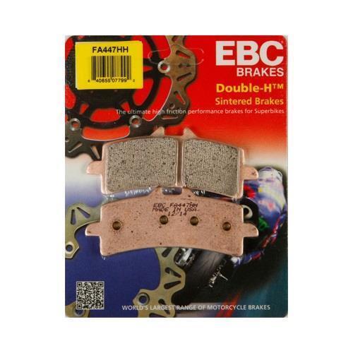 EBC HH Front Brake Pads for 2011-15 GSXR 600 750 12-16 GSXR1000 16 ZX10R FA447HH