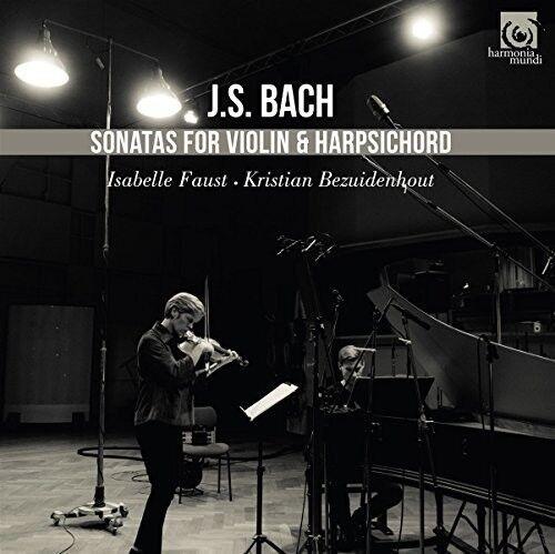 Kristian Bezuidenhou - Bach: Sonatas For Violin And Harpsichord [New CD]