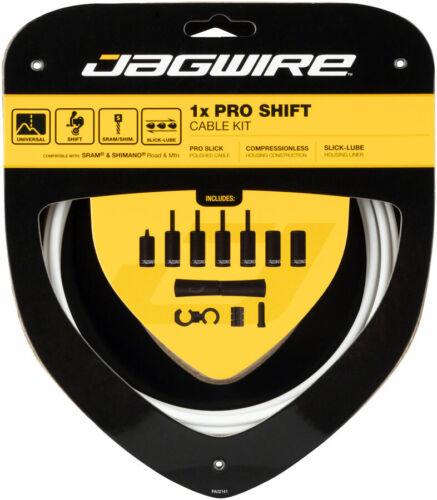Jagwire 1x Pro Shift Kit Route//Montagne SRAM//Shimano Blanc