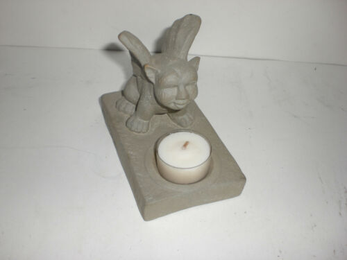 Mythical Small Gargoyle Statue Figure Candle Tealight Incense Holder Halloween 3