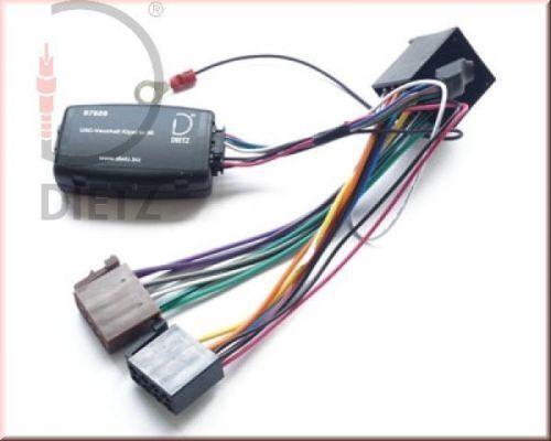 Dietz 67609 volante Interface Opel Astra G Vectra corsa incl radio cable de conexión