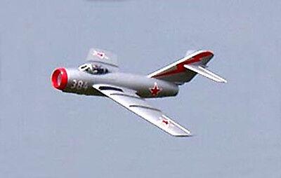1/12 Scale Mikoyan-Gurevich MiG-15 Plans, Templates, Instructions