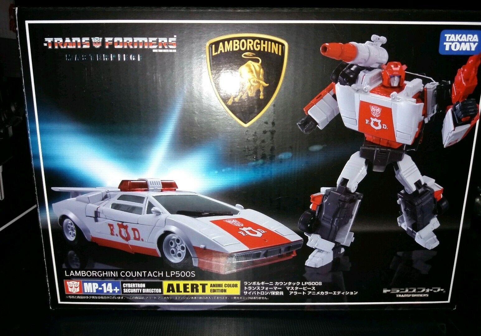 Nuovo di zecca con scatola MP-14+ TAKARA Alert Transformers Masterpiece rosso Alert